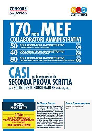aa.vv. Concorso MEF. 170 collaboratori