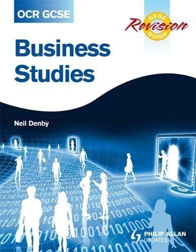 Neil Denby OCR GCSE Business Studies Revision