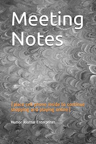 Humor Journal Enterprises Meeting Notes (place
