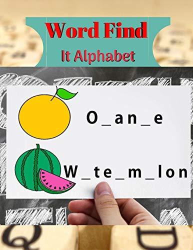 Hlifton  F. Darris Word Find It Alphabet: