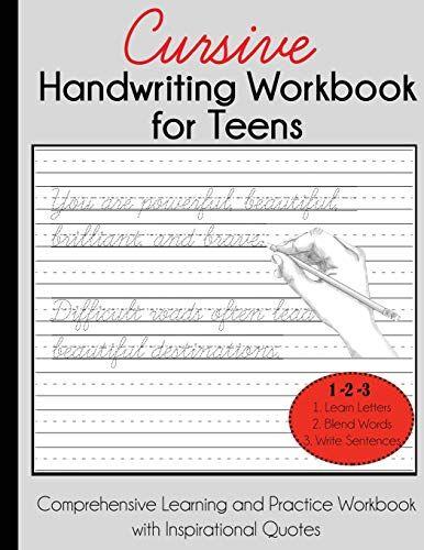 Dylanna Press Cursive Handwriting Workbook for