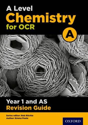 Rob Ritchie A Level Chemistry for OCR A Year 1