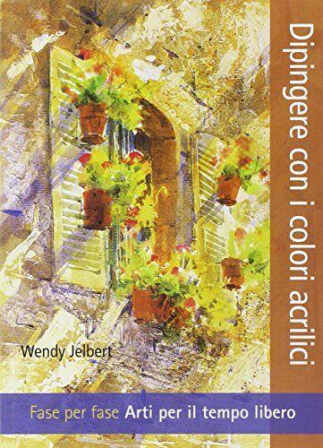 Wendy Jelbert Dipingere con i colori acrilici.