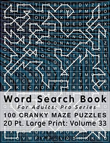 Mark English Word Search Book For Adults: Pro