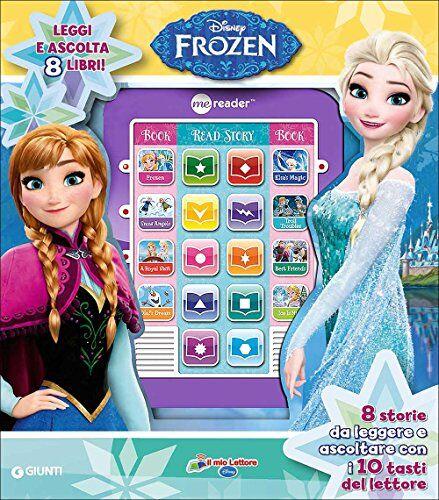Giunti Frozen. Il mio lettore Disney. Con 8
