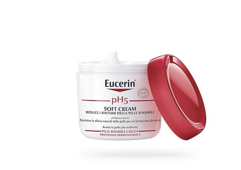 Eucerin pH5 Soft Cream crema corpo pelle sensibile 450ml