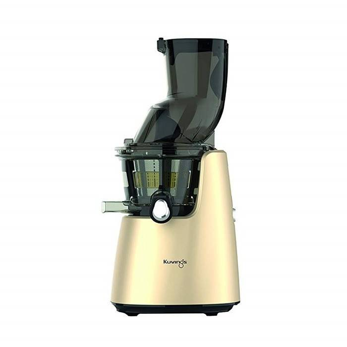 kuvings estrattore di succo whole juicer kuvings c9820 gold