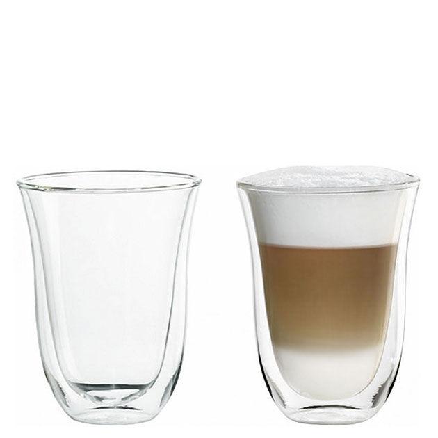 DeLonghi Confezione 2 bicchieri per caffè espresso