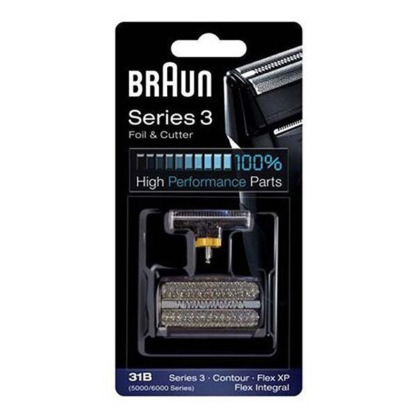 Braun Testina rasoio Combi Pack Serie 3 370,360 Contour (5000/6000) Argento