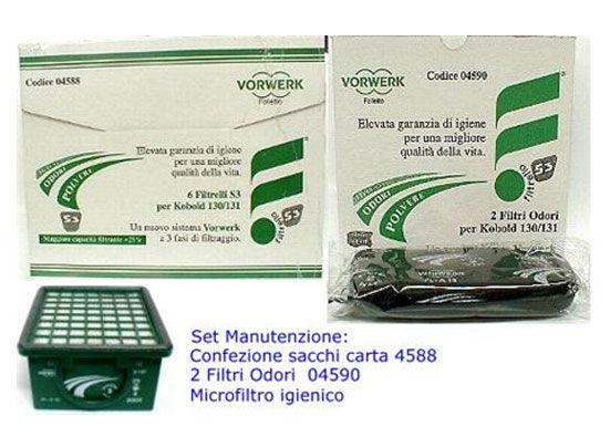 Vorwerk Set farfalla per Folletto VK 130 - VK 131