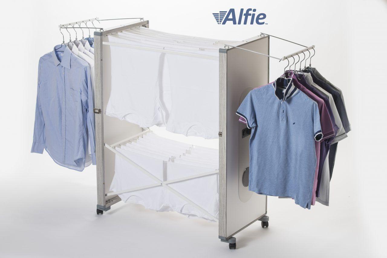 alfie stendibiancheria elettrico ventilato alfie 690 con doppio ionizzatore e inverter