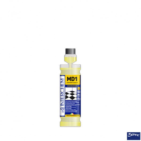 Interchem MD1 Detergente lavapavimenti agrumato superconcentrato lt 1