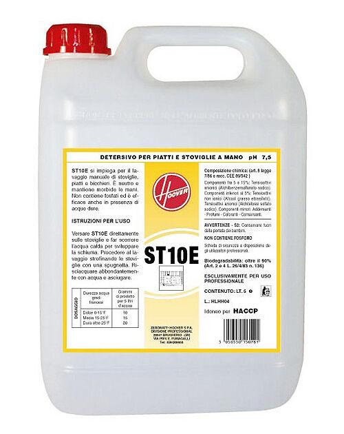 Hoover ST10E Detersivo liquido per piatti a mano