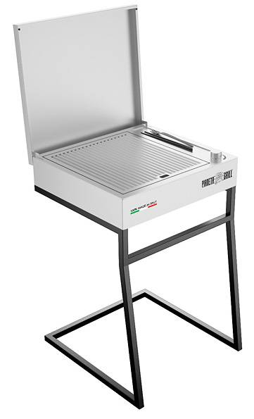 barbecue professionali barbecue professionale elettrico silver electric moon