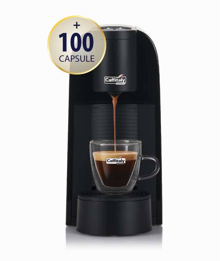Caffitaly Promo Macchina da caffè Caffitaly System Maia S33 nero