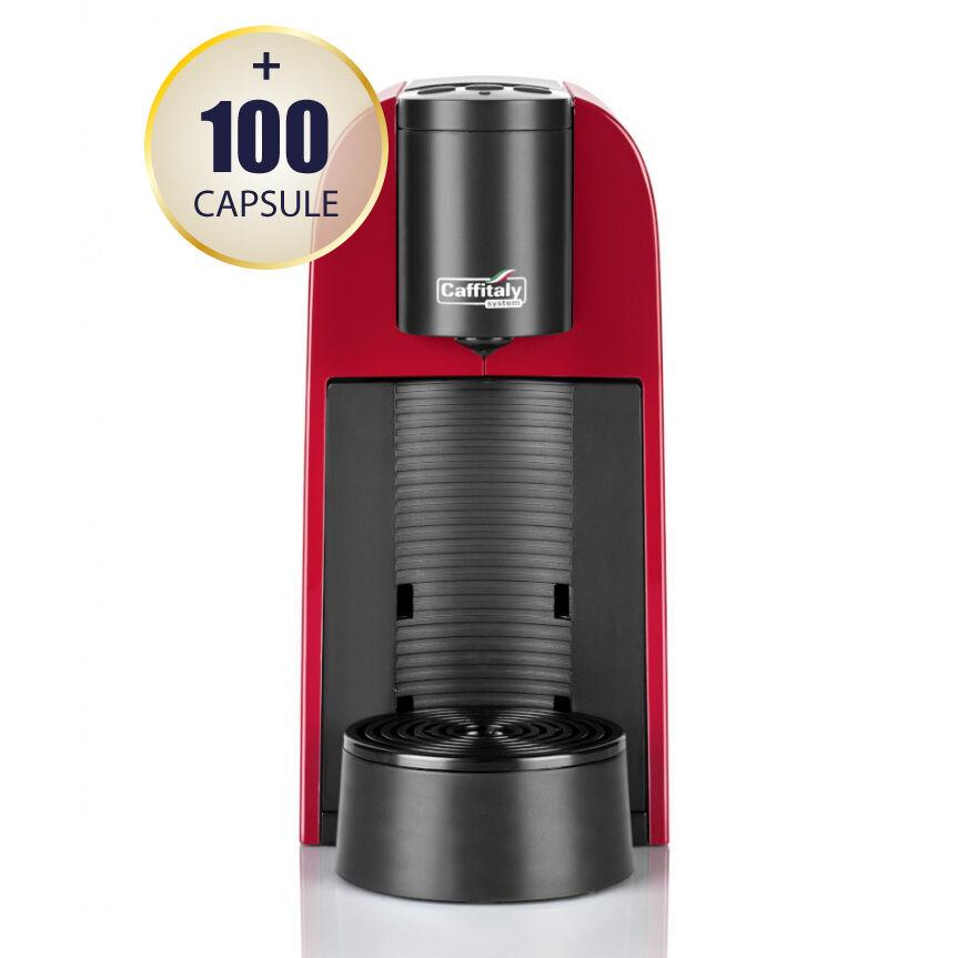Caffitaly Promo Macchina da caffè Caffitaly System Maia S33 rossa