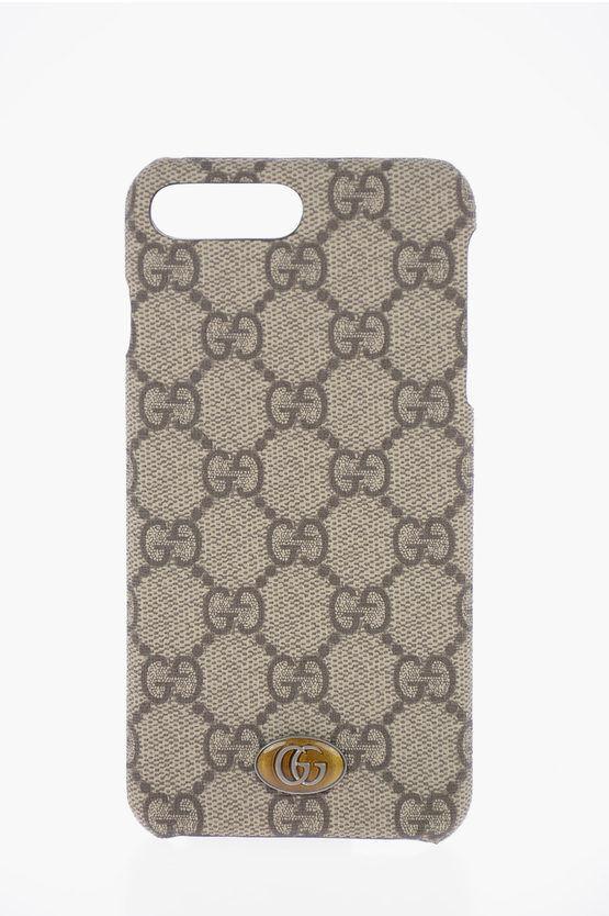 Gucci Cover iPhone 8 PLUS Stampa logo taglia Unica