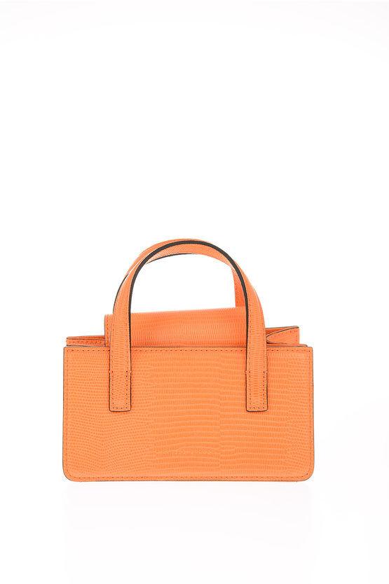 marge sherwood mini borsetta a tracolla in pelle stampata taglia unica