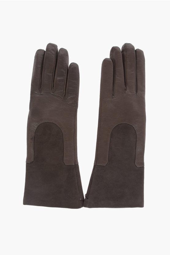 gala gloves guanti in pelle taglia 7,5