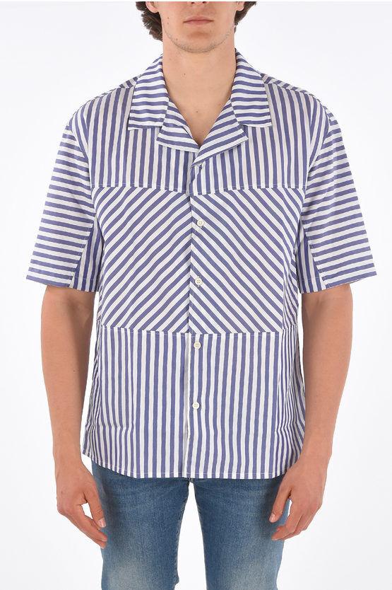 Plus Que Ma Vie camicia awning striped a manica corta taglia 50