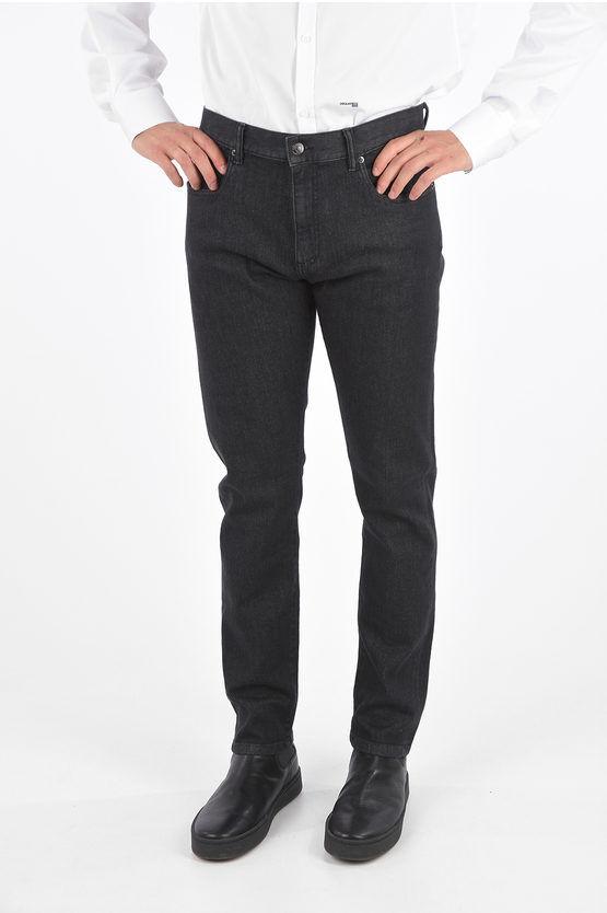 Zegna EZ LUX Jeans Lavaggio Scuro 18cm taglia 38