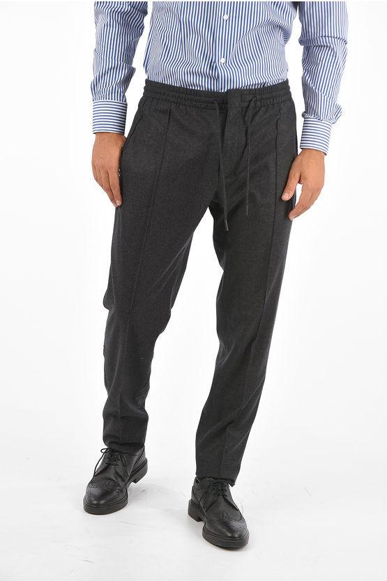 Zegna EZ LUX pantaloni in lana taglia 52