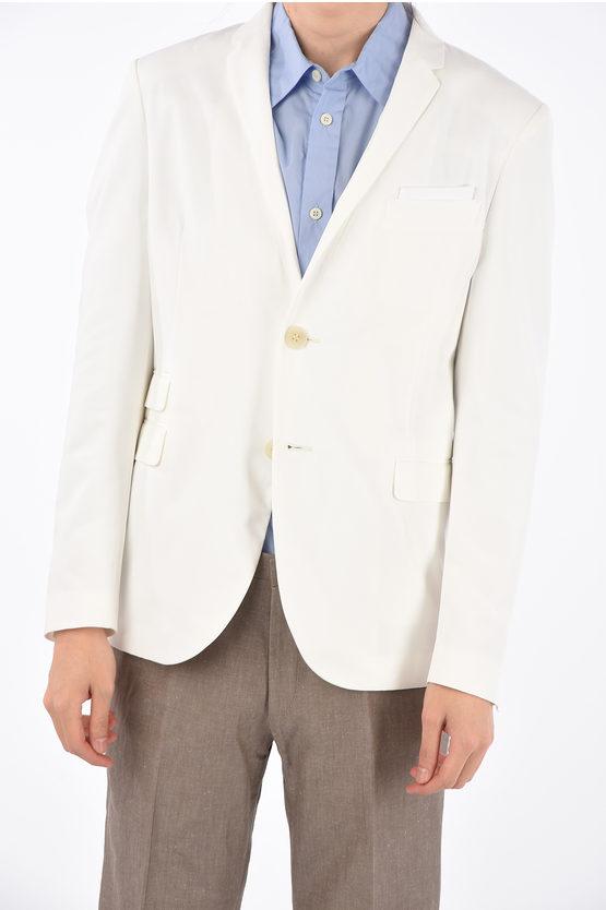 Neil Barrett giacca a 2 bottoni senza spacchi revers classico taglia 48