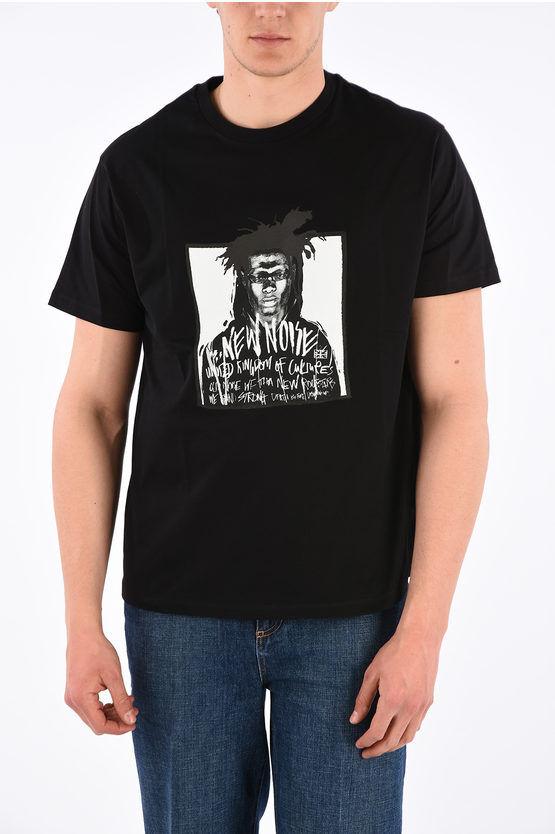 Neil Barrett JAMES TRAN T-Shirt NEW NOISE Girocollo in Cotone taglia S