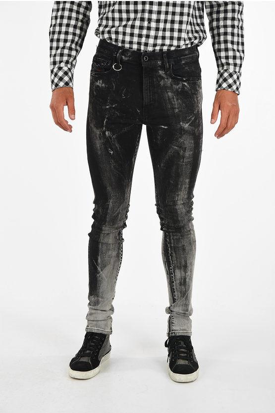 Diesel Jeans D-AMNY Skinny Fit 14cm L32 taglia 33