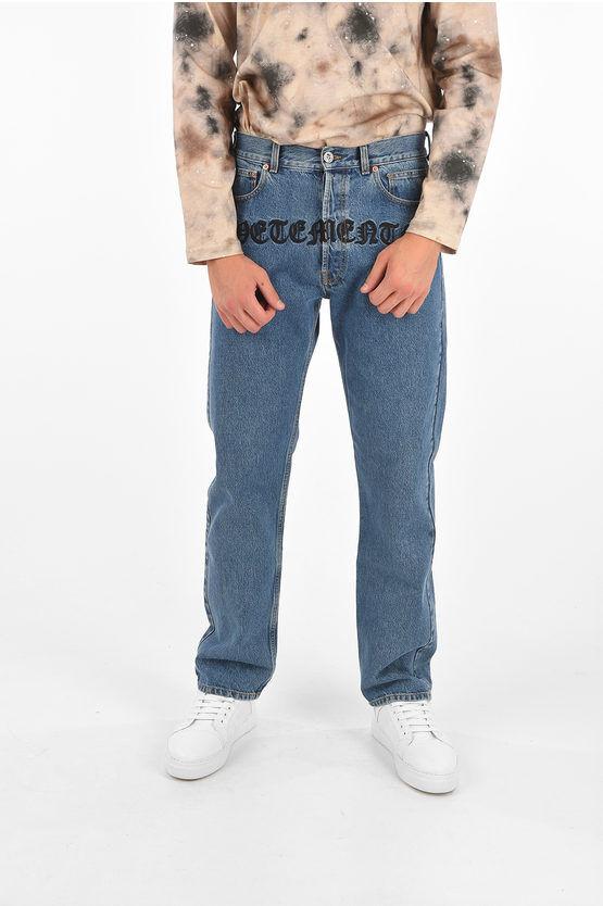 Vetements Jeans GOTHIC Straight Fit taglia M