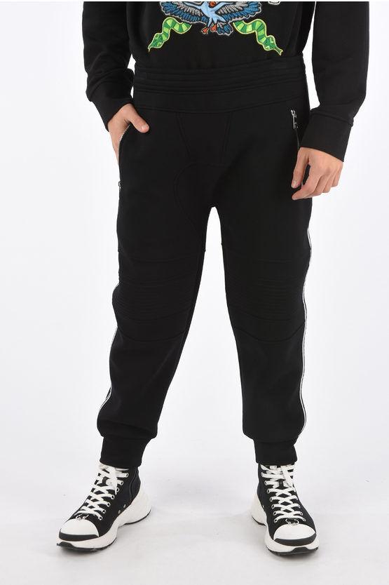 Neil Barrett Pantalone Jogger Skinny Fit a Vita Bassa taglia Xl