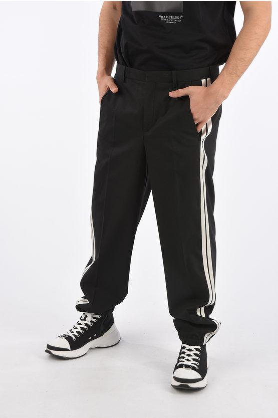 Neil Barrett Pantalone Piping Easy Fit a Vita bassa taglia 46