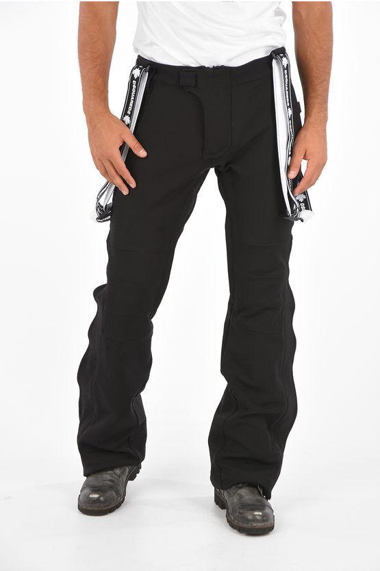 Dsquared2 SKI Pantaloni da Sci con Bretelle Logate taglia 52