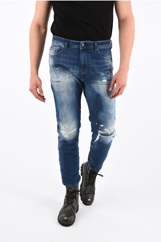 Diesel Sweat Jogg Jeans NARROT-T Distressed 18cm taglia 28