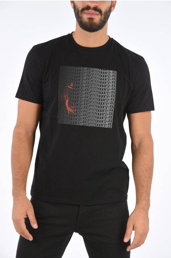 Just Cavalli T-Shirt con Stampa taglia Xs