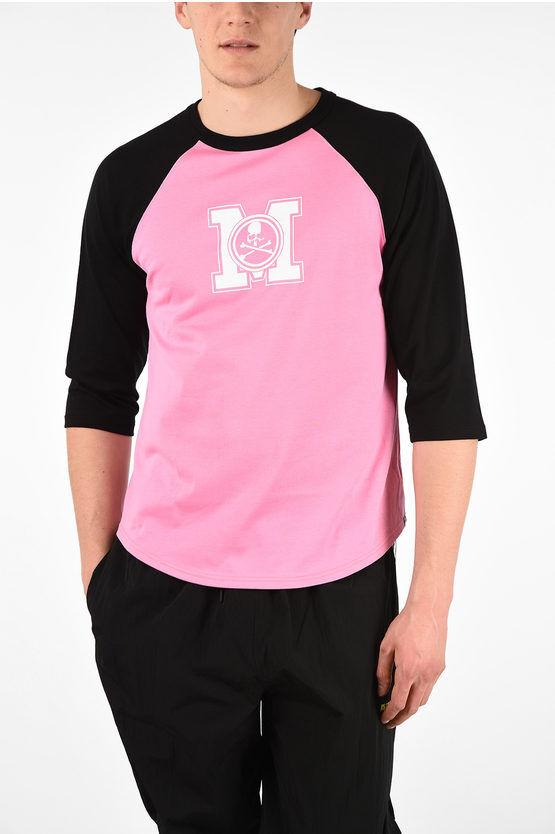 Mastermind T-Shirt Oversize a Maniche Lunghe con Stampa taglia M
