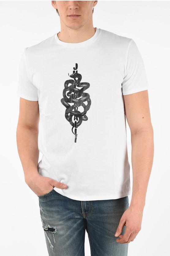 Just Cavalli T-shirt Stampa Serpenti taglia M