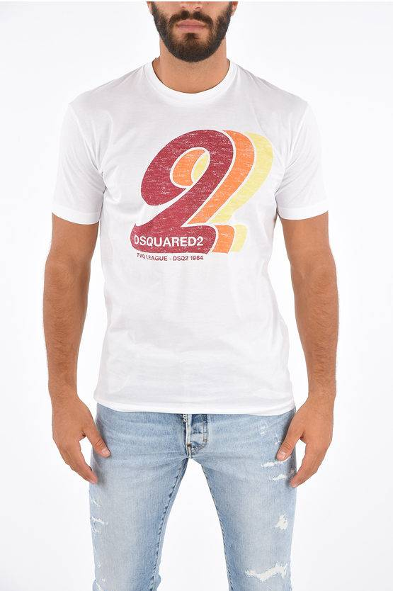 Dsquared2 T-shirt TWO LEAGUE 1964 Cool Fit taglia S