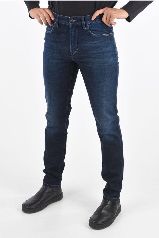 Zegna Z Jeans Dritti Vita Media 17cm taglia 42