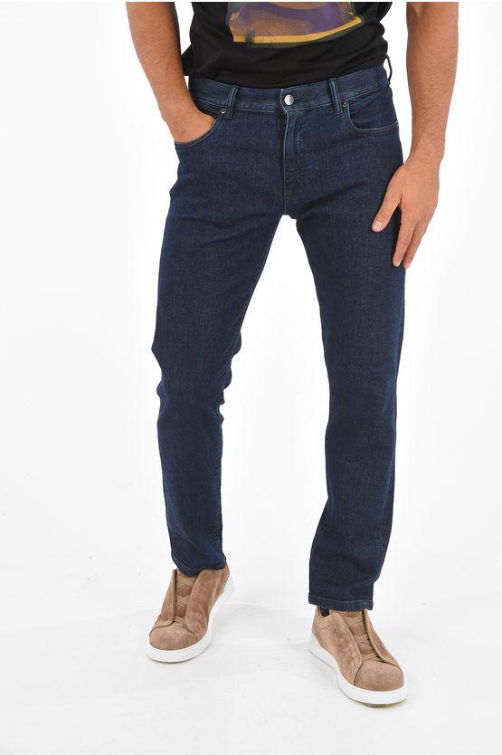 Zegna ZZEGNA Jeans in denim Stretch 20cm taglia 35