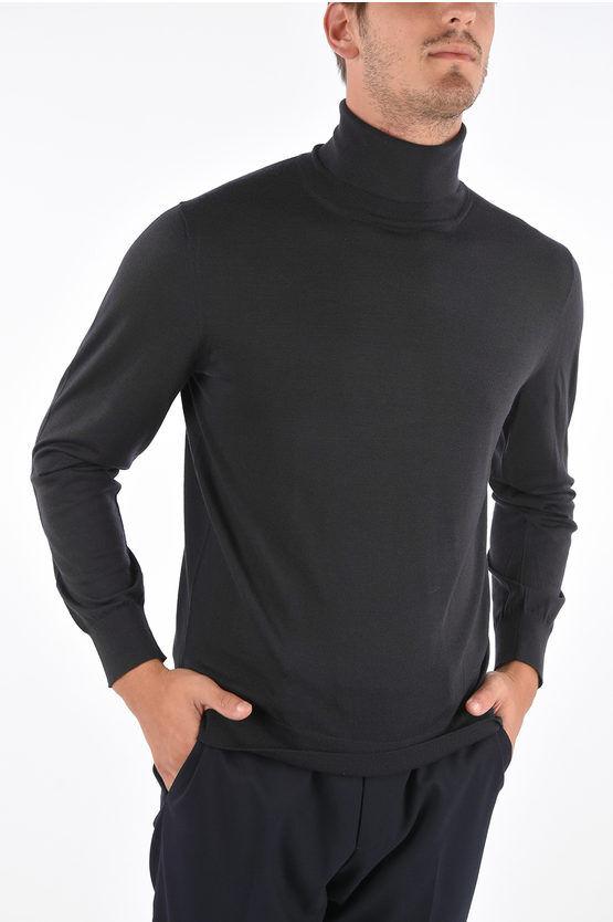 Zegna ZZEGNA maglia a colla alto in lana taglia S