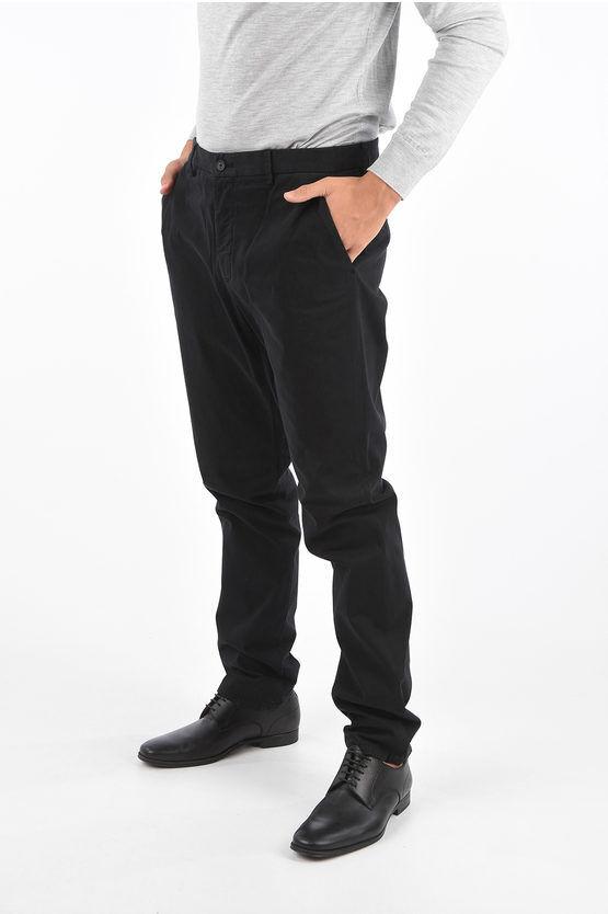 Zegna ZZEGNA Pantalone Chino in Cotone Stretch taglia 46