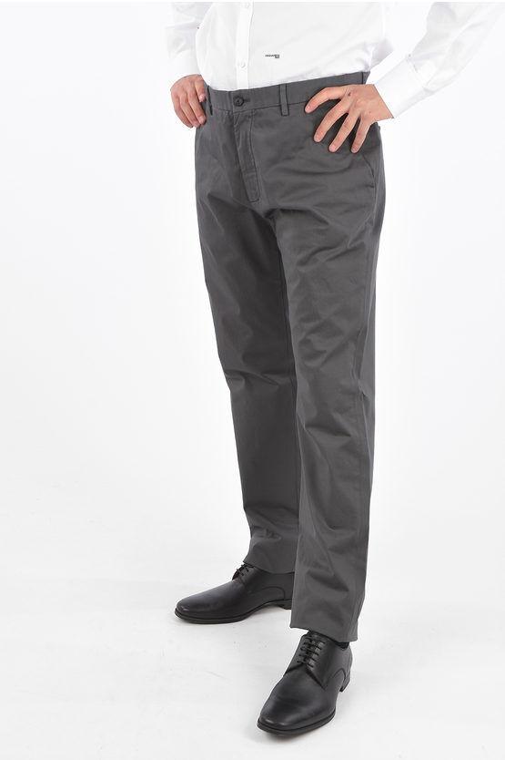 Zegna ZZEGNA Pantaloni a 4 Tasche in Cotone Stretch taglia 52