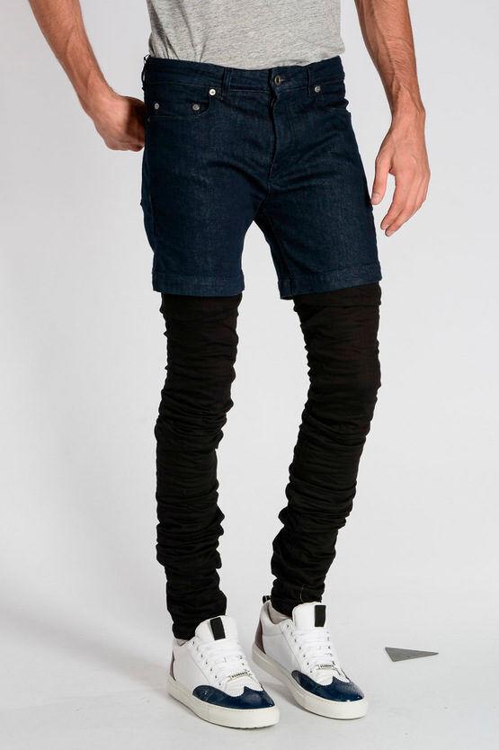 Diesel BLACK GOLD Jeans TYPE-2630 in Denim Stretch 15 cm taglia 31