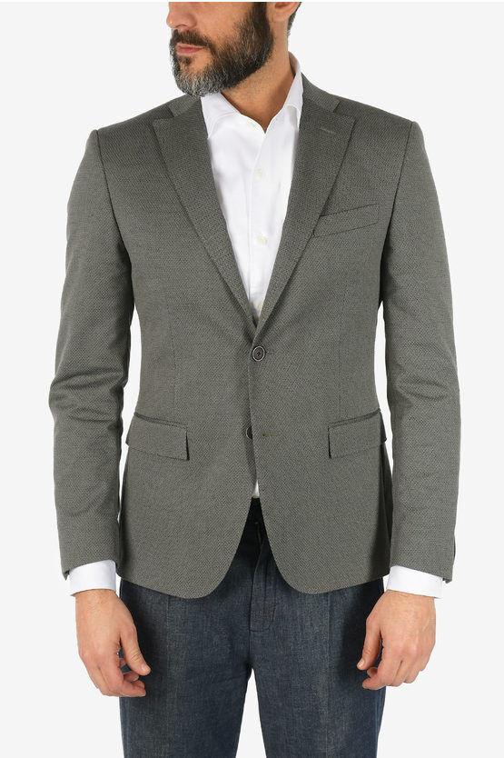 Corneliani CC COLLECTION blazer RESET mini check taglia 50