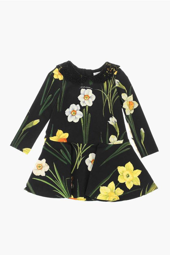 dolce&gabbana vestito a fiori taglia 2 a