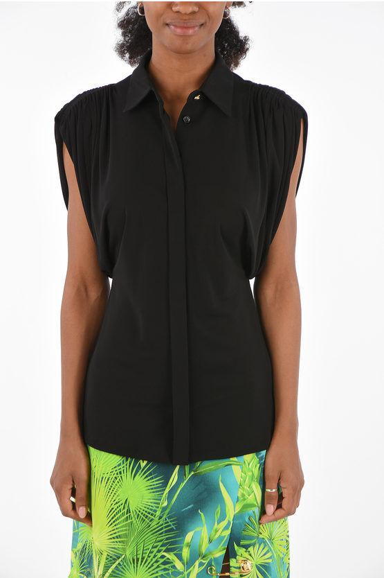 Versace blusa manica 3/4 taglia 42