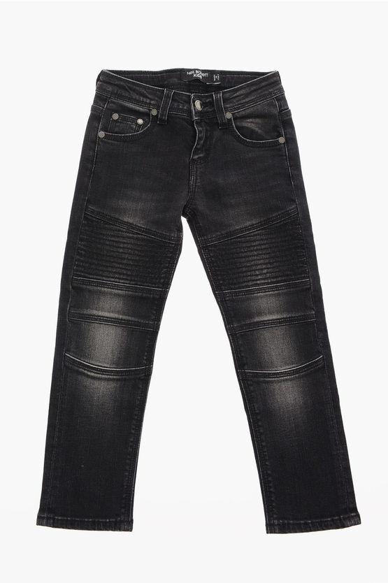 Neil Barrett Jeans in Denim Stretch taglia 12 A