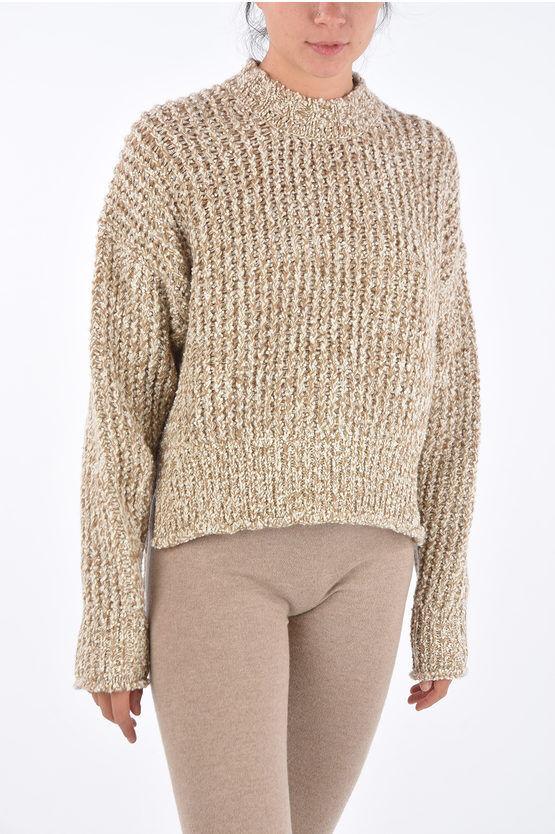 Jil Sander Maglia Girocollo Crochet Asimmetrica taglia S