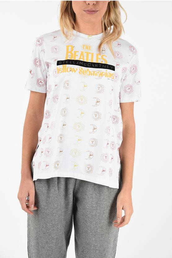 Stella McCartney THE BEATLES t-shirt YELLOW SUBMARINE girocollo taglia 38